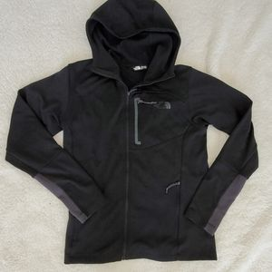 The North Face | Black Zip-Up Shell Jacket